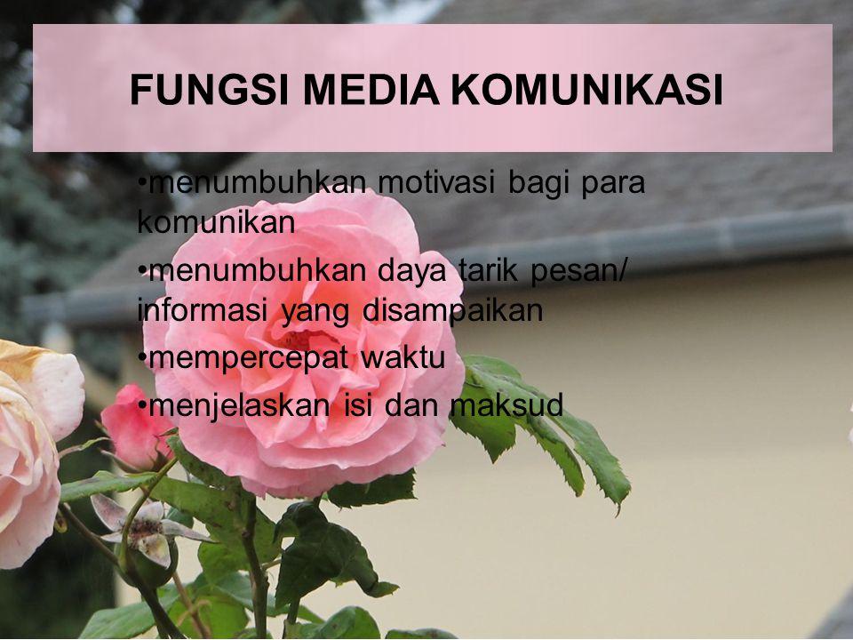 FUNGSI MEDIA KOMUNIKASI