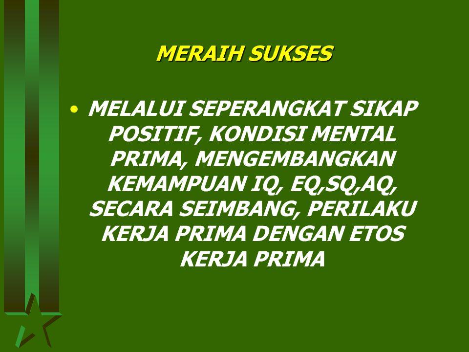 MERAIH SUKSES
