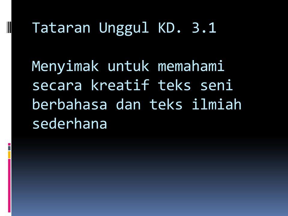 Tataran Unggul KD.