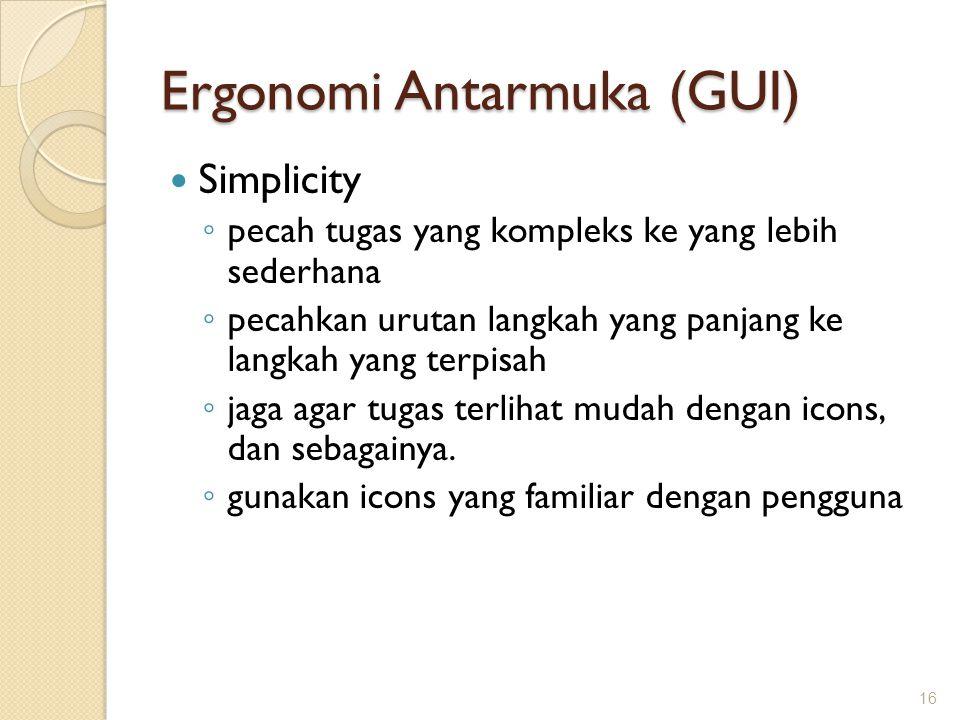 Ergonomi Antarmuka (GUI)