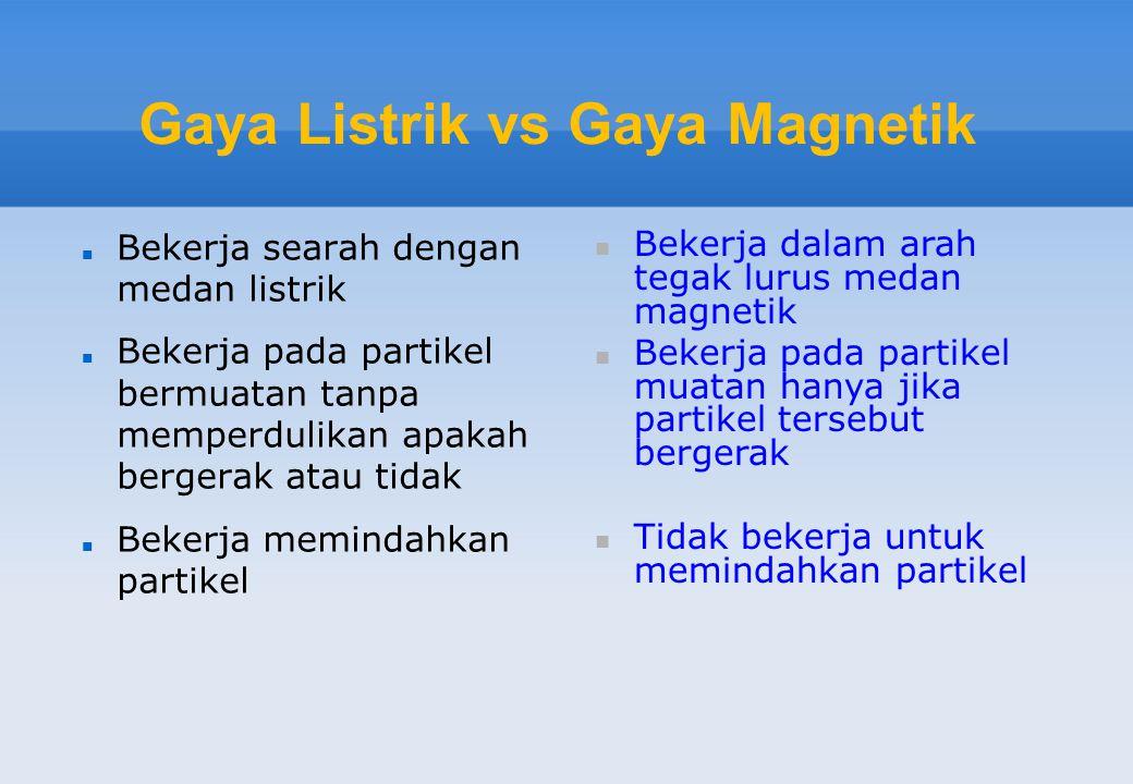 Gaya Listrik vs Gaya Magnetik