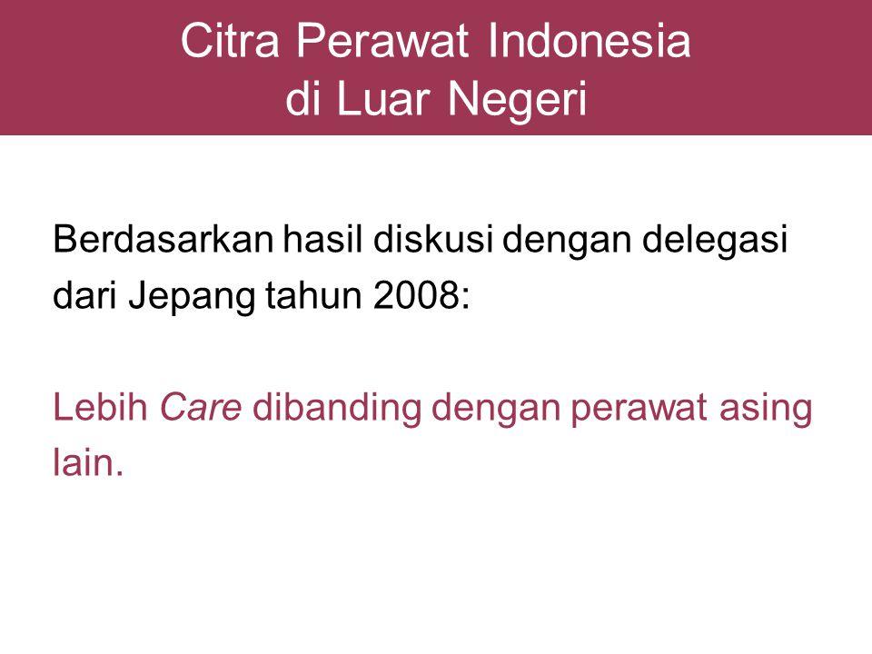 Citra Perawat Indonesia di Luar Negeri