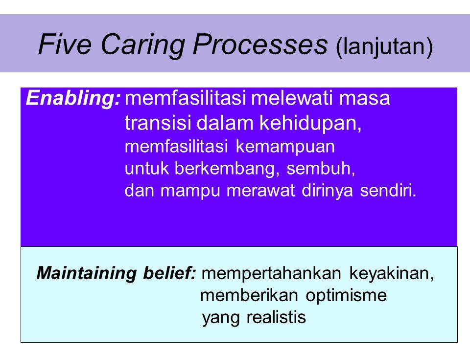 Five Caring Processes (lanjutan)