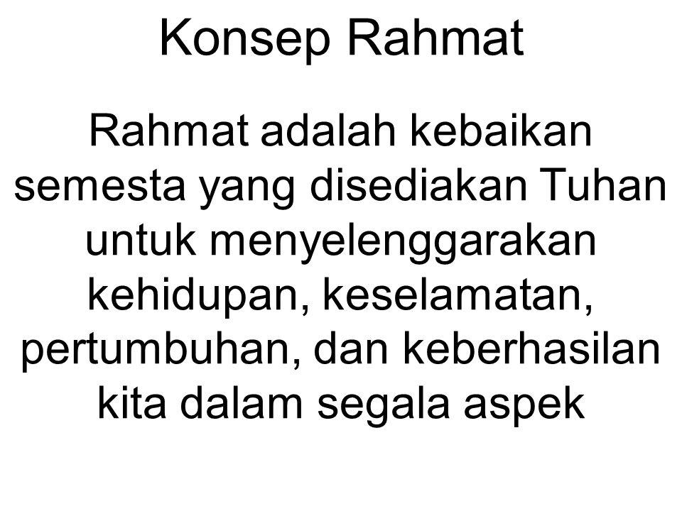 Konsep Rahmat