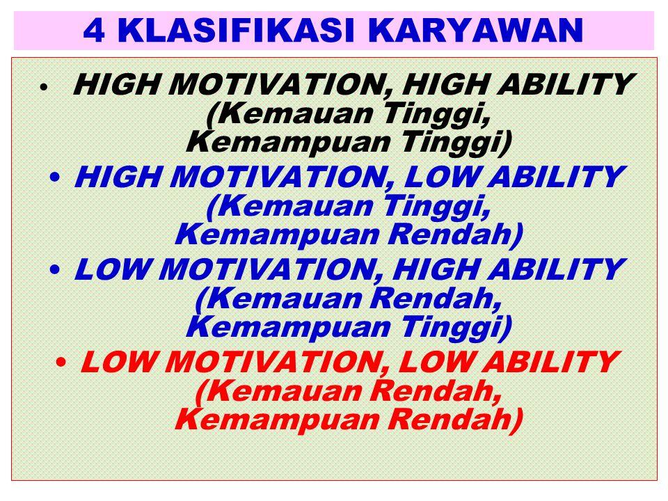 4 KLASIFIKASI KARYAWAN