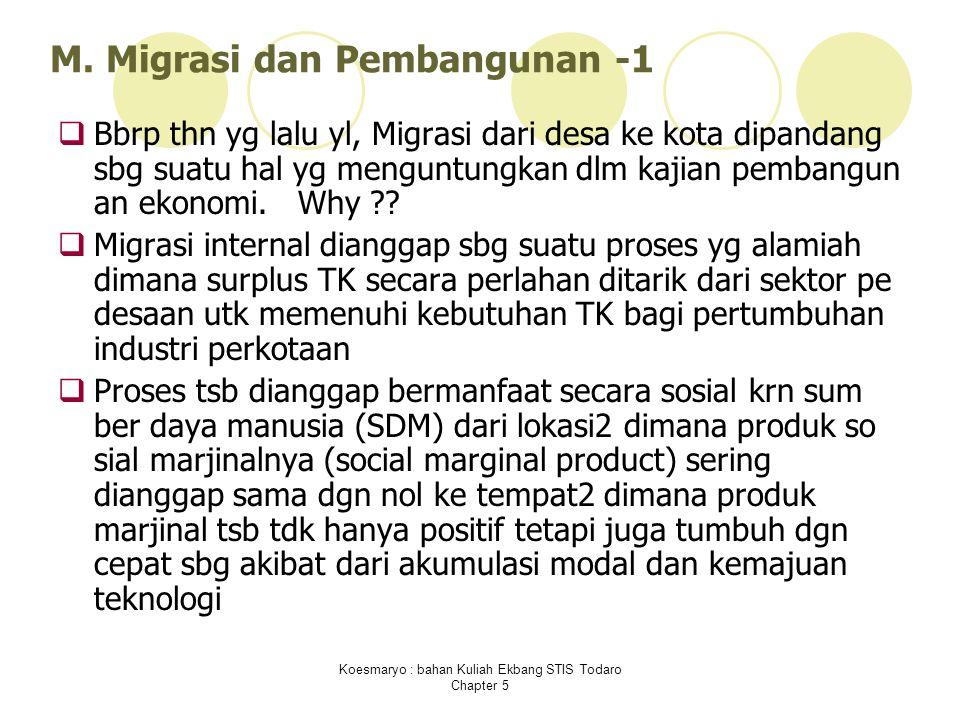 M. Migrasi dan Pembangunan -1