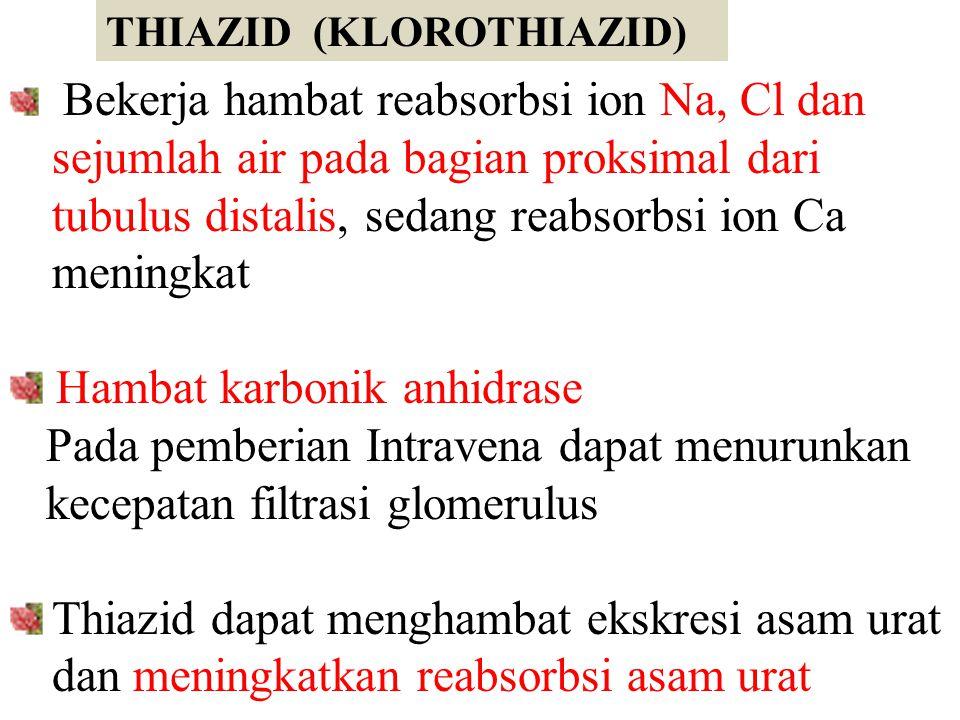 Hambat karbonik anhidrase