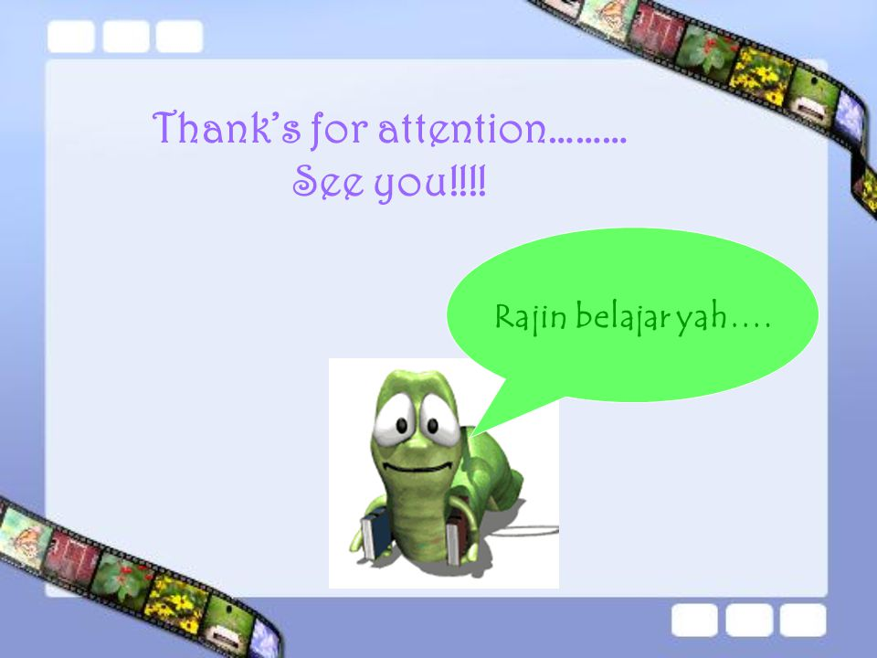 Thank's for attention………