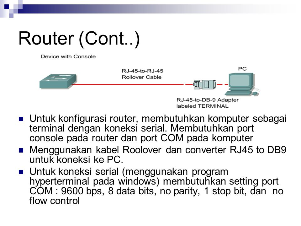 Router (Cont..)