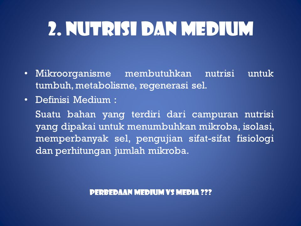 Perbedaan Medium vs Media