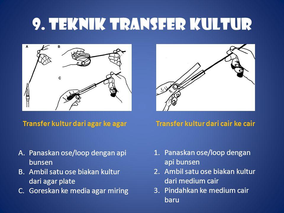 9. TEKNIK TRANSFER KULTUR