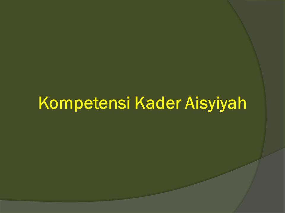 Kompetensi Kader Aisyiyah