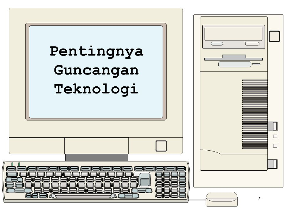 Pentingnya Guncangan Teknologi