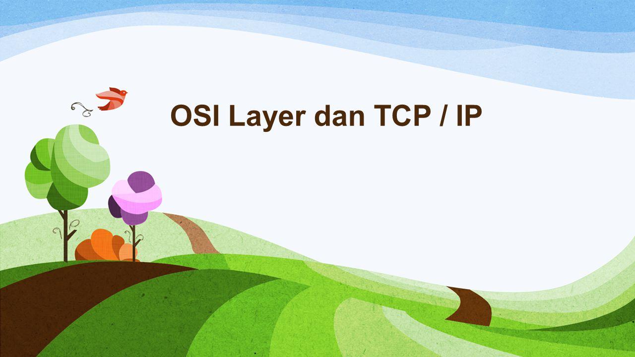 OSI Layer dan TCP / IP