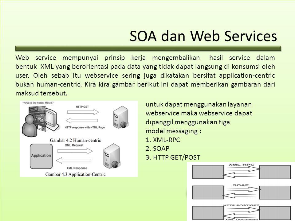 SOA dan Web Services