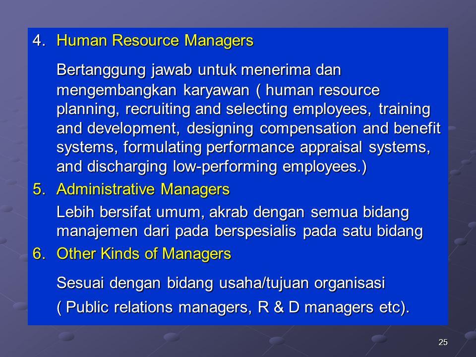 Sesuai dengan bidang usaha/tujuan organisasi