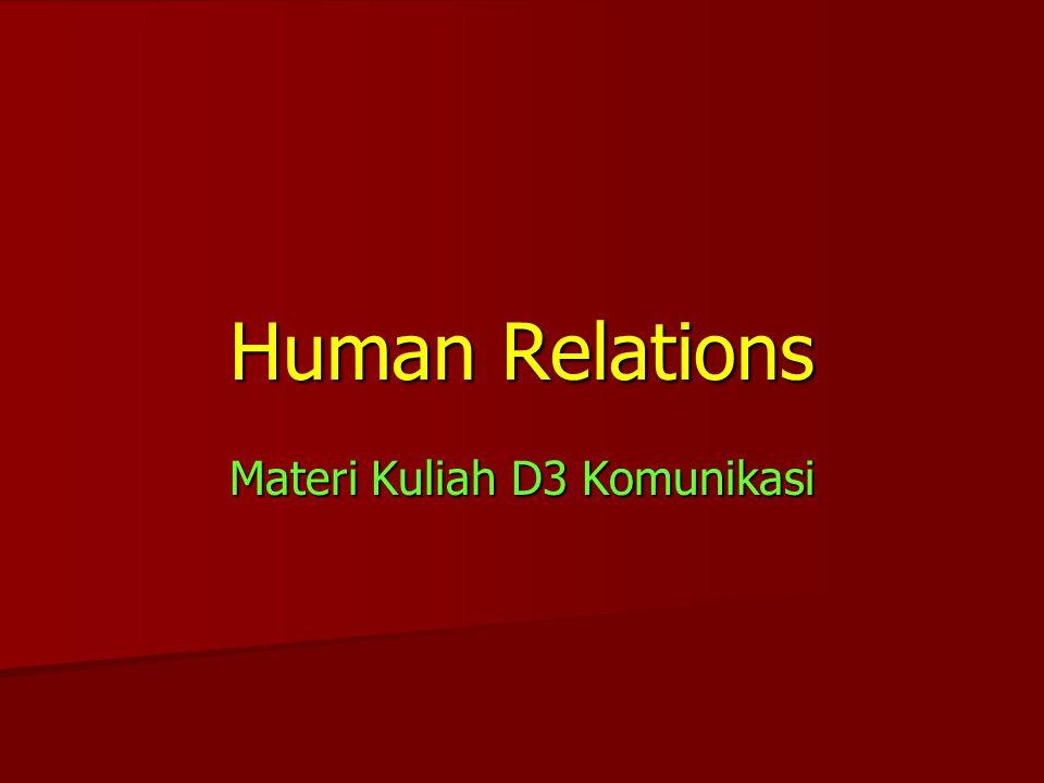 Materi Kuliah D3 Komunikasi