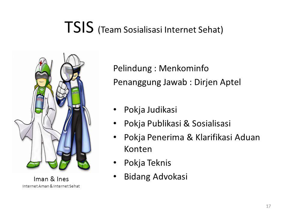 TSIS (Team Sosialisasi Internet Sehat)