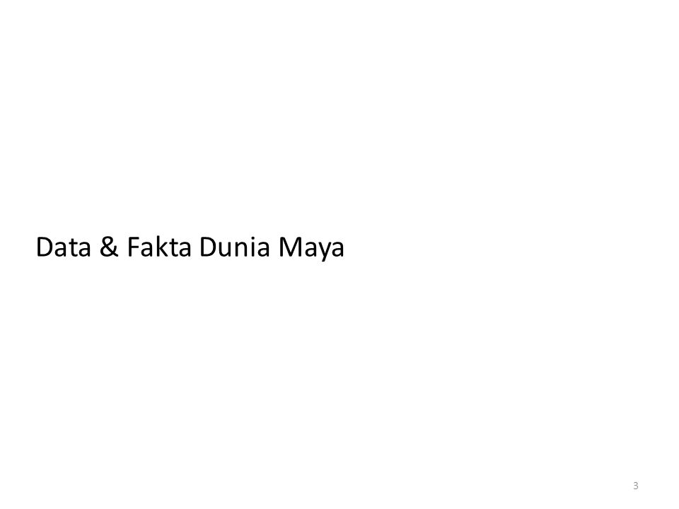 Data & Fakta Dunia Maya