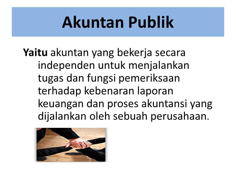Akuntan Publik