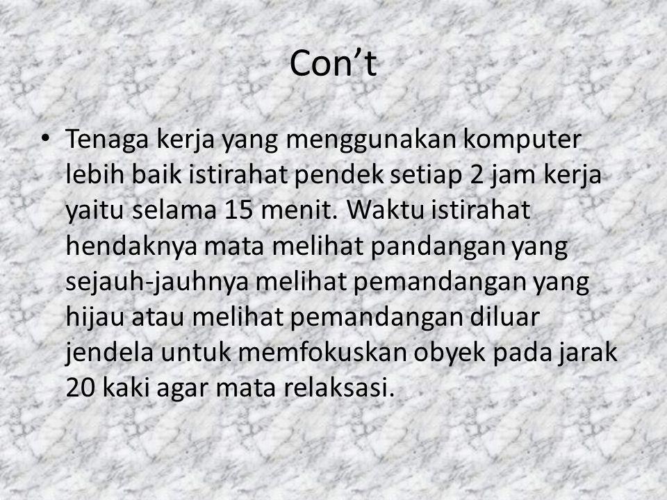 Con't