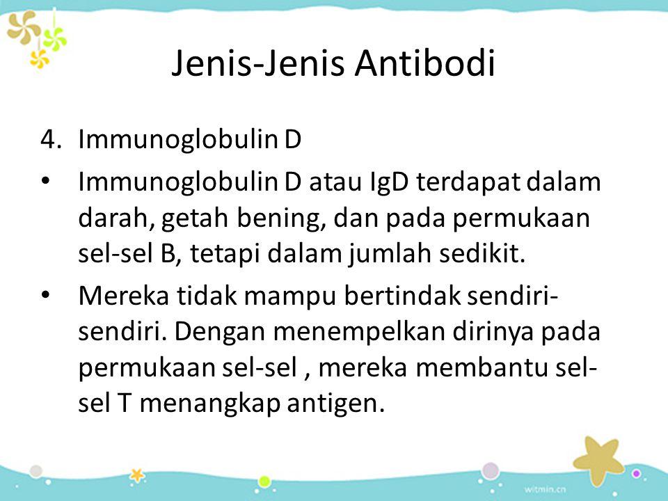 Jenis-Jenis Antibodi Immunoglobulin D