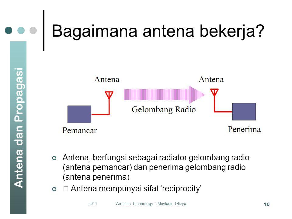 Bagaimana antena bekerja