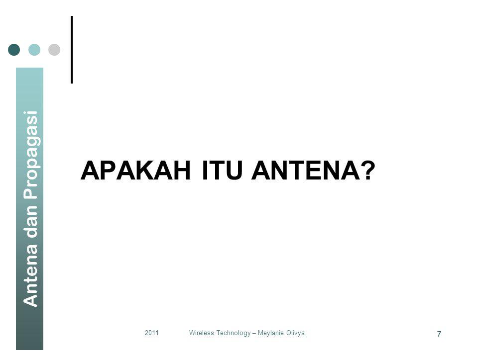 Wireless Technology – Meylanie Olivya