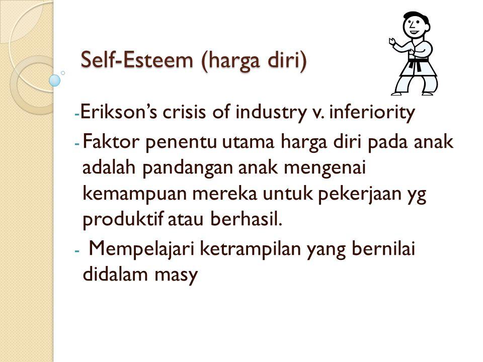 Self-Esteem (harga diri)