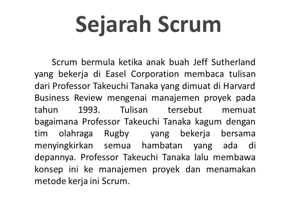 Sejarah Scrum