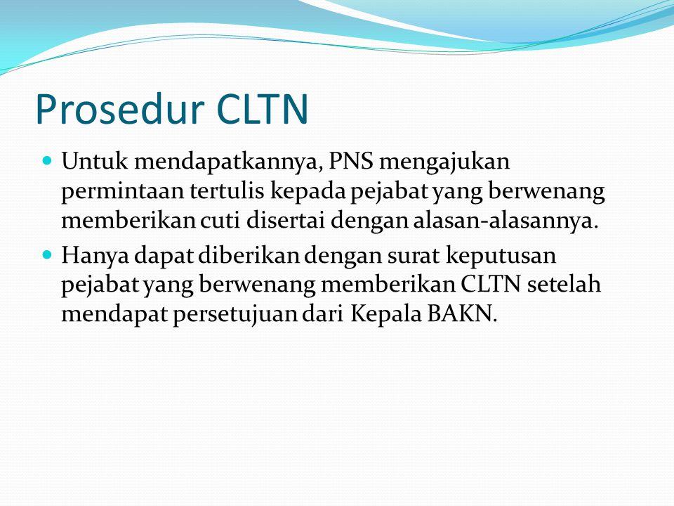 Prosedur CLTN