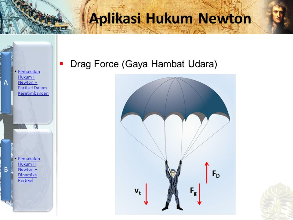 Drag Force (Gaya Hambat Udara)