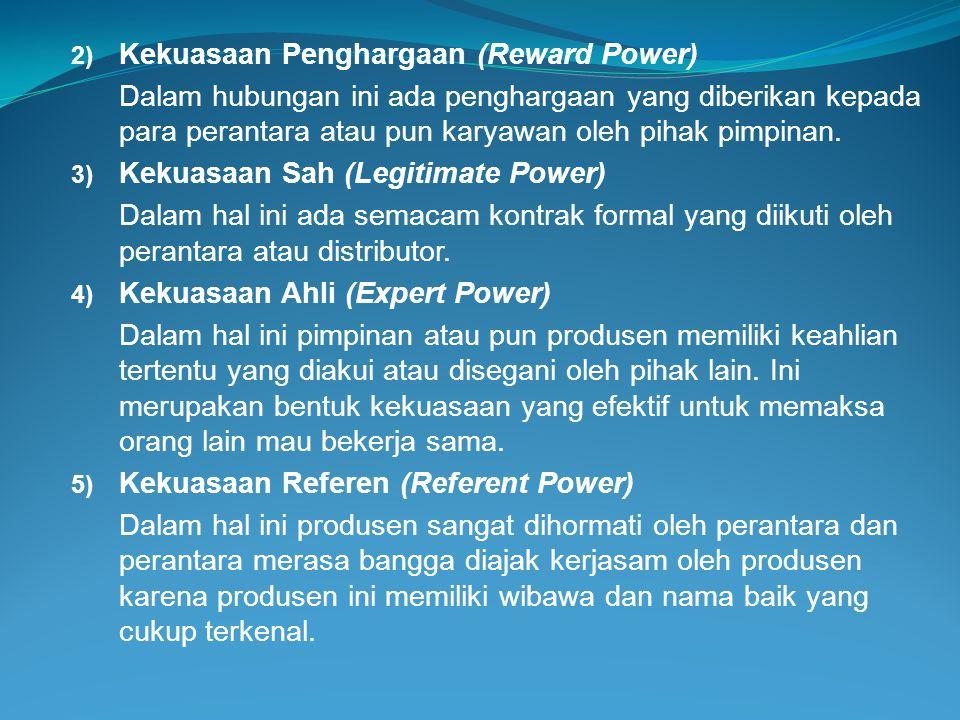 Kekuasaan Penghargaan (Reward Power)