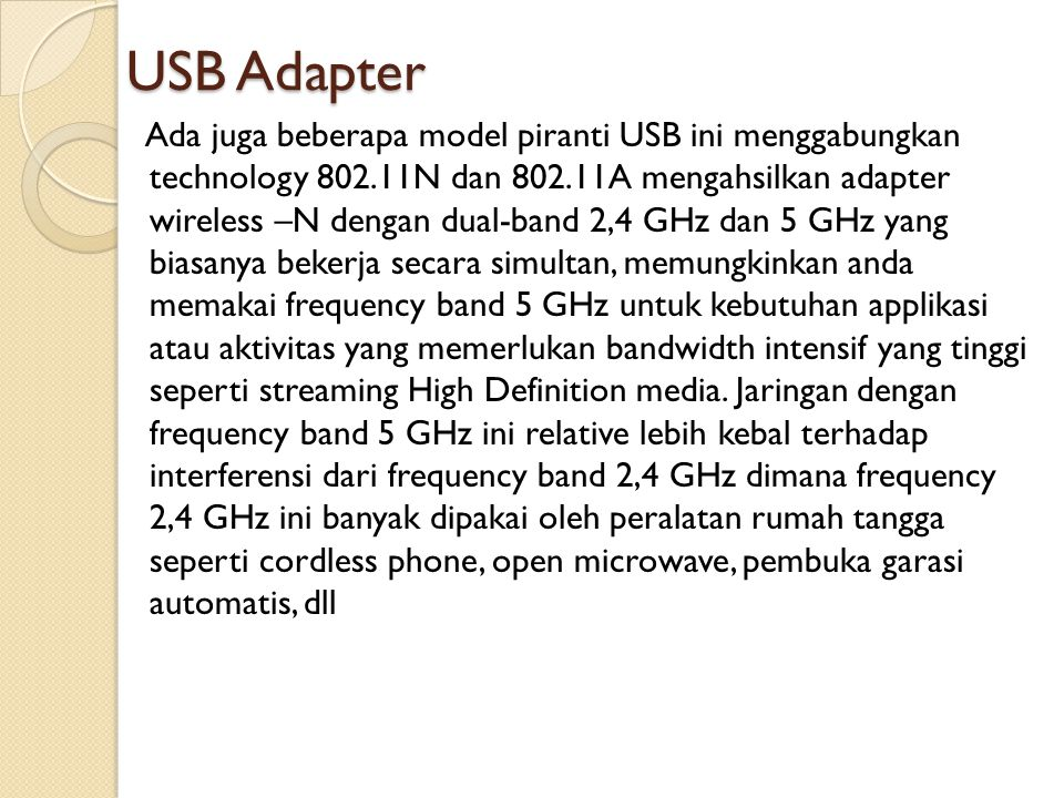 USB Adapter