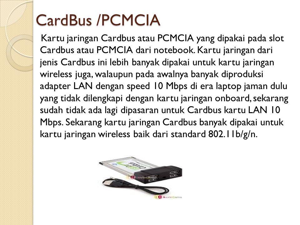 CardBus /PCMCIA