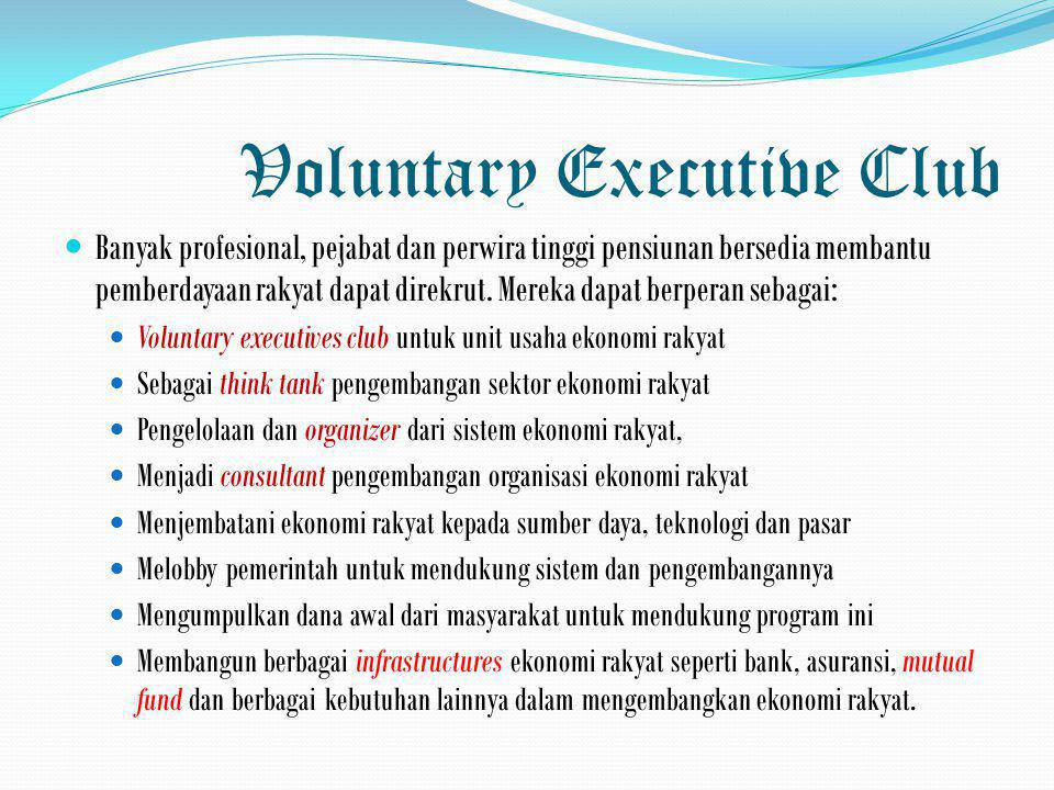 Voluntary Executive Club