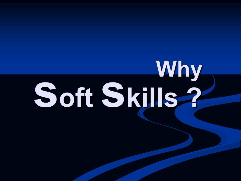 Why soft skills