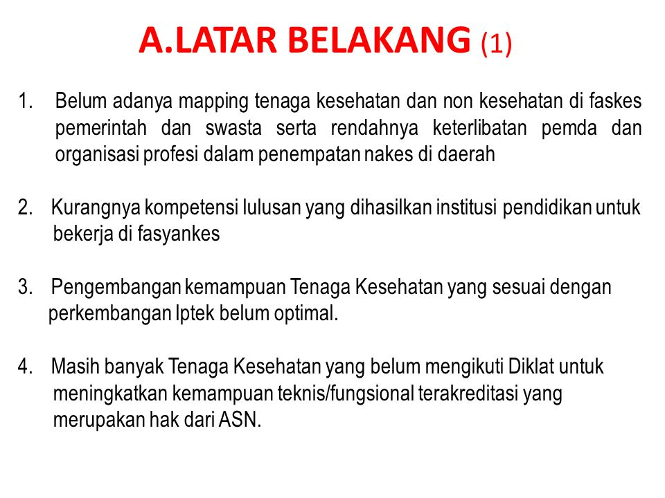 A.LATAR BELAKANG (1)