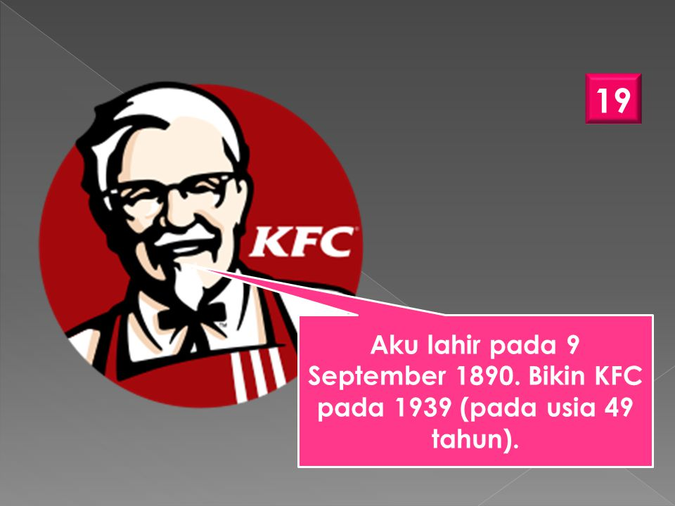 Aku lahir pada 9 September 1890