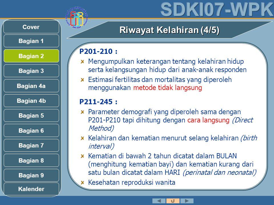 Riwayat Kelahiran (4/5) P201-210 :