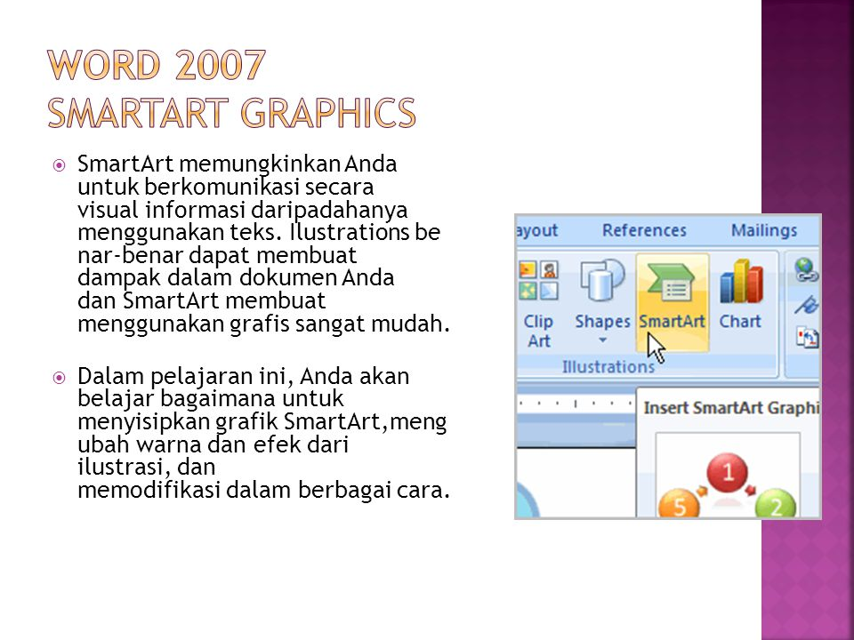 Word 2007 SmartArt Graphics