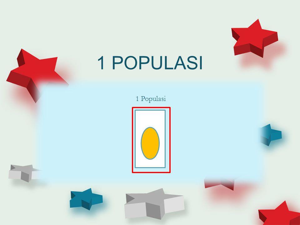 1 POPULASI 1 Populasi