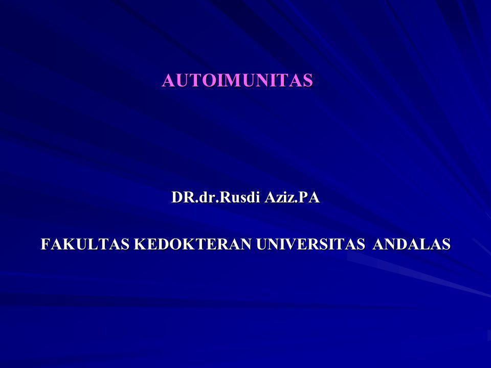 DR.dr.Rusdi Aziz.PA FAKULTAS KEDOKTERAN UNIVERSITAS ANDALAS
