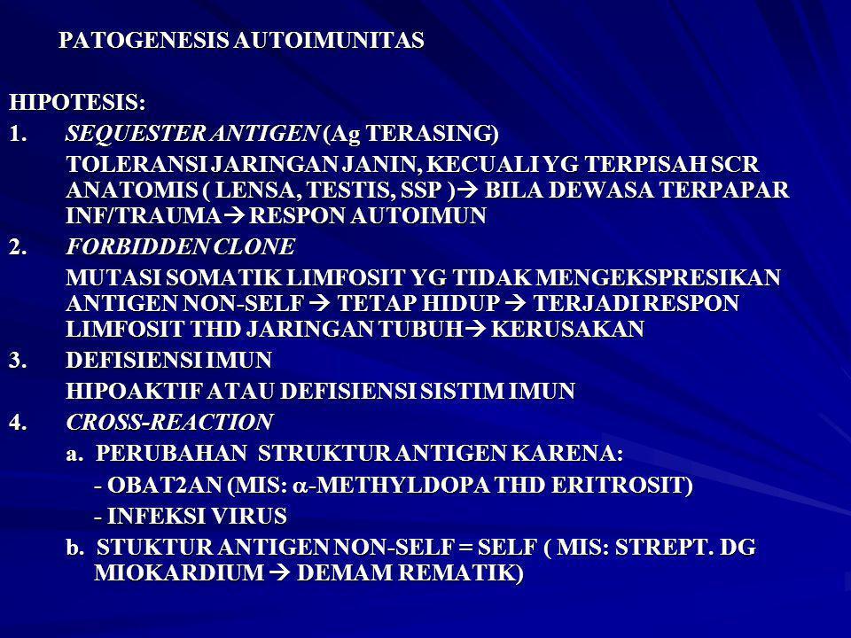 PATOGENESIS AUTOIMUNITAS