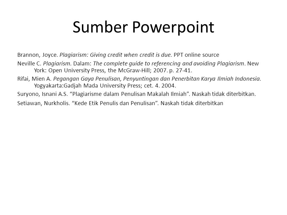 Sumber Powerpoint