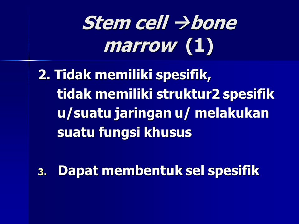 Stem cell bone marrow (1)