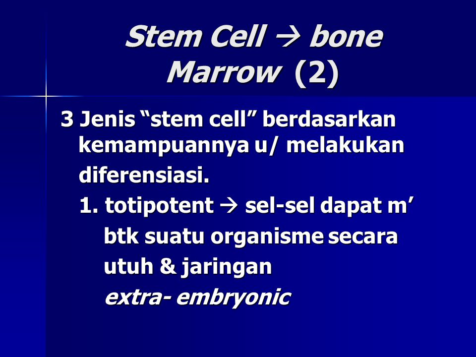 Stem Cell  bone Marrow (2)