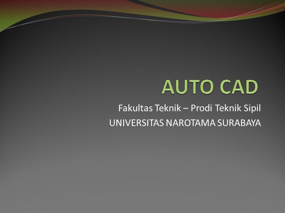 Fakultas Teknik – Prodi Teknik Sipil UNIVERSITAS NAROTAMA SURABAYA