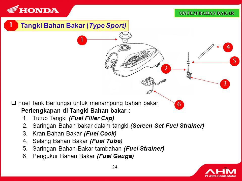 Tangki Bahan Bakar (Type Sport)