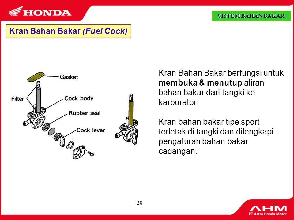 Kran Bahan Bakar (Fuel Cock)